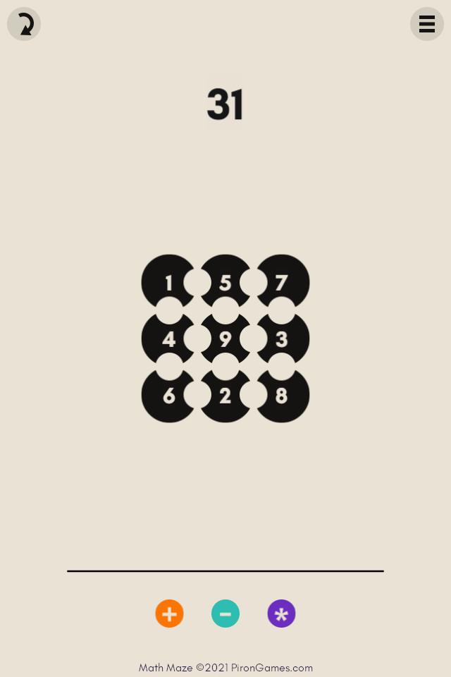 Image Math Maze